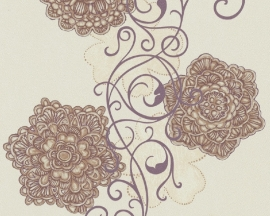 bloemen vlies behang 5747-02