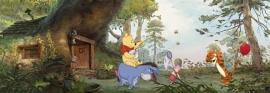 Pooh's House Komar 4-413 winny the poo fotobehang