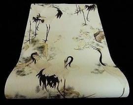 kraanvogel dieren vinyl as creation behang  tapete 7686-36