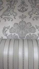 grijs barok behang x91