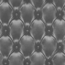 chesterfield gekapitonneerd vlies 3d behang 479539