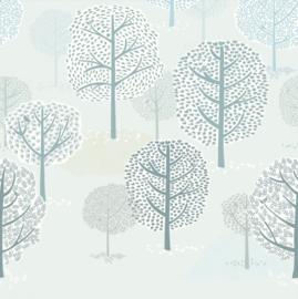 Eijffinger Mini Me Wallpower Forest Trees 399117