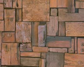 AS Creation Simply Decor Houtblokken behang 32994-1
