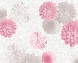bloemen vlies behang 9521-92