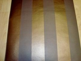 streepjes behang goud bruin 63