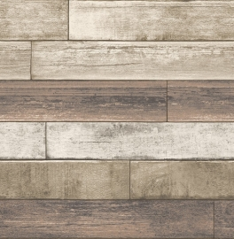 Dutch Reclaimed behang FD22347 Weathered Plank