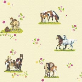 paarden behang 290509