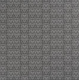 zwart barok behang ornamentals  48636