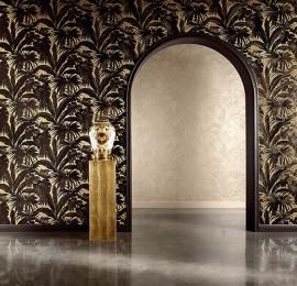 versace tropisch behang zwart goud xx7