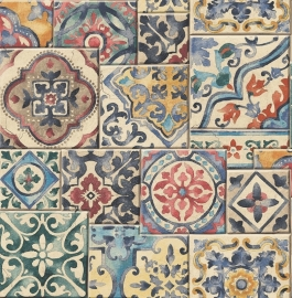 Dutch Reclaimed behang FD22301 Marrakesh Tiles