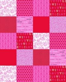 Behang. 156807 Poster Love-Esta