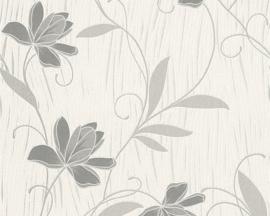 bloemen behang glitter 94963-9