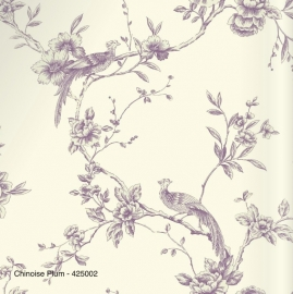 CHINOISE PLUM BEHANG - Arthouse Options 2 425002