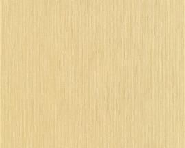 Behang Hermitage Monochroom geel glans 94349-9