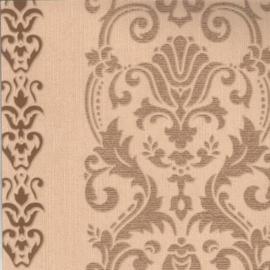 barok klassiek behang beige bruin 62039