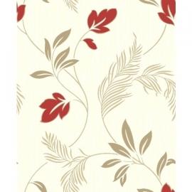 Grandeco Ideco Eva Floral  Glitter Motif reliëf behang  A11204