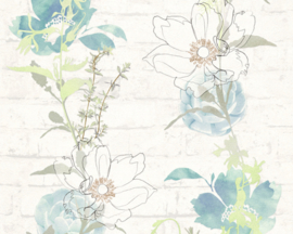 AS Creation Urban Flowers behang 32800-1