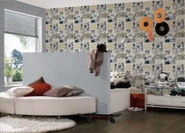 Graffiti behang 30468-3