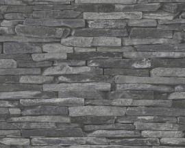 AS Creation Wood´n Stone 9142-24 Steenstructuur behang