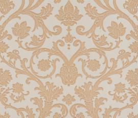 goud barok damask behang Vintage 3901