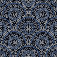 Arabica sahara nights behang blauw sk10026