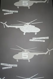 helikopter militair stoer jongens behang OZ 7205