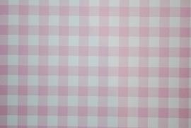 Behang Expresse Roze wit Ruitjes 23801