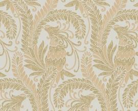 hermitage 9 9438-55 beige bloemen behang