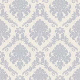 barok behang glitter blauw 1368-14 palitra