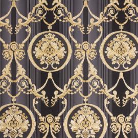 Hermitage behang ornamenten Metallic 33083-6