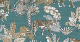 Dutch Wallcoverings Jungle Fever behang Leopard JF2104