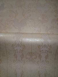 klassiek hermitage creme beige behang 13