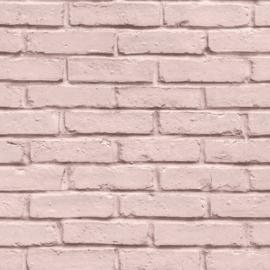 Rose steen behang nieuw 3D vlies 35856-3