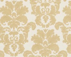 Barok behang goud creme 95937-1