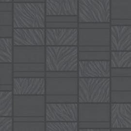 TEGEL MET GLITTER BEHANG - Rasch Tiles and More 888317