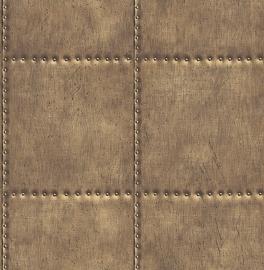 Dutch Reclaimed behang FD22341 Sheet Metal Steel