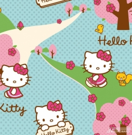 Noordwand Kids @ home 70-239 Hello Kitty Disney