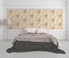 behang glitter bruin goud 32522-2