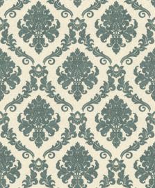 barok behang glitter groen 1368-17 palitra