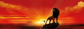 fotowand Lion King