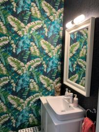 tropical behang bladeren 535655