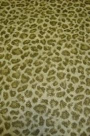 luipaardprint groen dieren print vinyl behang 67
