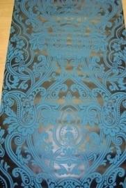 blauw zwart barok vlies 232