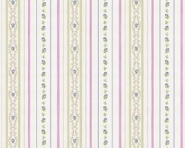 kleine roosjes bloemetjes behang romanze as creation 85016-4