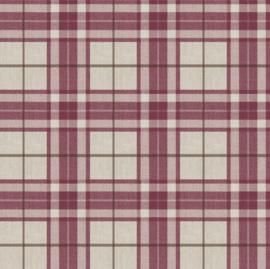 rood ruiten behang 7864