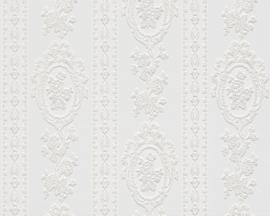 Glitter behang wit 18614-0