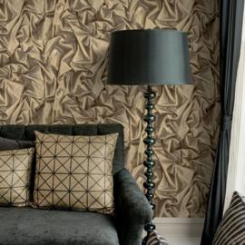 3d zijde satijn behang Realistische Glitter Silk L14202
