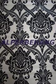 barok vlies behang zwart zilver 422