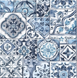 Dutch Reclaimed behang FD22316 Marrakesh Tiles