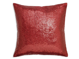 Arthouse Glitterati kussen Red Sequin 008336